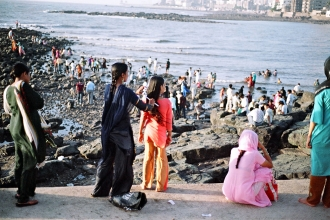 Shores of Haji Ali