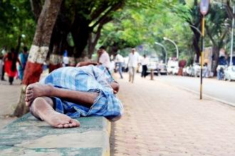 Street Nap